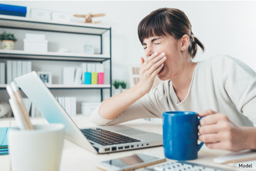 Are you falling asleep at your desk and easily irritated? Lack of sleep or a hormone imbalance may be to blame-img-blog