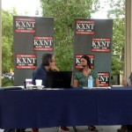 Dr. Cristy Thomas Live on KXNT 100.5FM - 1